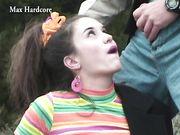 Leah With Braces Part 1 - Max Hardcore