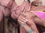 Layla Rivera and Alexa Throat Fucked By Max Hardcore (Extreme Schoolgirls 14)