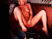 Sexy Samantha Zavodska putting her pussy on display