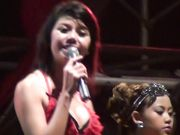 Hot thai girl singing รักนะ ฉึกๆ