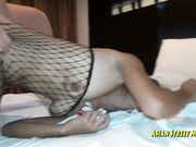 The punishing of bad thai girl Georgia!