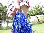 Micro-bikini loli like to entice and tiltilate you!