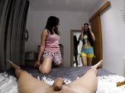 Amateur Couple Meets Teen Japanese in Tinder - MadeinCanarias