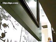 Delhi college girl in trial room hidden cam video leak