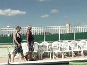 Rooftop Resort Gay Pool Sex