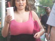 Tasha Wharmby - Huge Boobs - Voyeur Candid