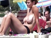 Topless On The Beach