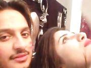 Super Hot Babe Sania n Lover wid Dirty Hindi Audio