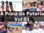 ✔ Putaria & Suruba Safada na Praia #01- www.sexlig.com