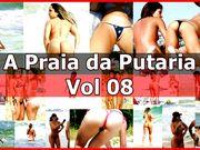 ✔ Putaria & Suruba Safada na Praia #08- www.sexlig.com