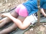 Hot Indian Girl got Outdoor fucking with her BF