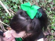 poppy pov outdoor public blowjob hd