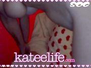 KateeLife AKA Katee Owen (KTO) - Best Webcam Pussy Show #1
