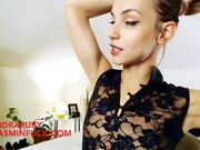 SandraRuby deepthroat to anal sloppy romanian camgirl