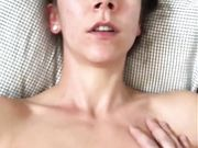 Small titted amateur slut gets facial