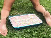 Ashley Hump cake twerk