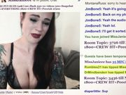 MissJanieee from MFC cries (with snot) for pity tips