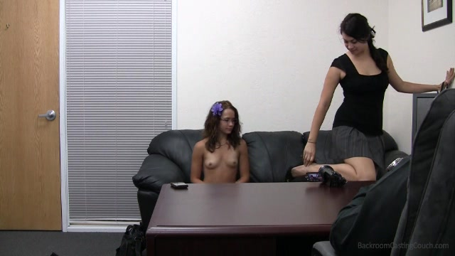 Leah Backroom Casting Couch