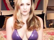 Brookie Marie in purple bikini!