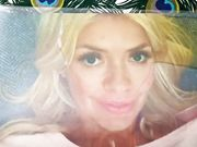 Holly Willoughby piss tribute