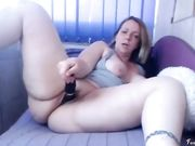 my stepmom is masturbating really hard