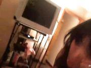 Luci Li and Hailey Double Blowjob