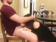 Amazing Milf Blowing And Riding Her BF
