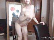 Sweet Teen Girl Strips on Webcam
