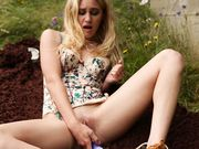 Lexi Masturbating In The Great Outdoors