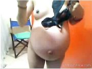 sherezzade  preggo girl in webcam