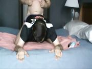 Another breeding session with the young man in a jock