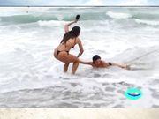 Panico on the Beach  -  com as Panicats