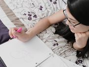 HD Asian Schoolgirl Doms Senpai