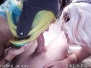 Purple_Bitch - First BGG Anal Video With Cute Girls