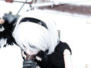 Lana Rain - 2B Uses Her Body To Rescue Nier Automata
