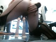 Butt Slut Trixie - Sissy Cunt Toying