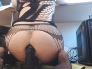 Butt Slut Trixie - BBC drilling my sissy cunt deep