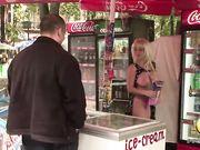 naked & funny Olga Pavlenko Ice Cream Prank