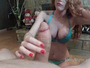 JennyBlighe - Slow Motion Cum Eating BJ