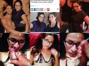 My Tinder Date Erica Nerdy Latina Huge Cum Facial