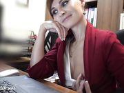 Jeny Smith naked at work