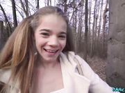 Sabrina spice forest blowjob