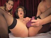 orgy in a German swinger club