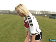 Naomi Nevena And Vanessa Decker Are Lesbian Soccer Team