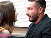 Gorgeous rimming with hot petite teen Hazel Moore