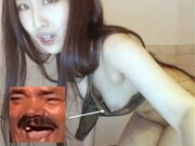 BJ Korean whore Angela Angelalala Ang Rare Nip Slip