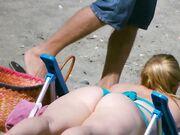 Candid Voyeur Beach