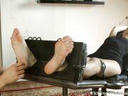 #390 FW Rene sexy feet & soles worshiped by friend LFW