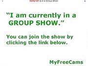 SamySamSamX aka SamyraX Group Show 18cams.org