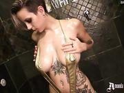 Amanda Verona - Oil Slick Tatted Babe